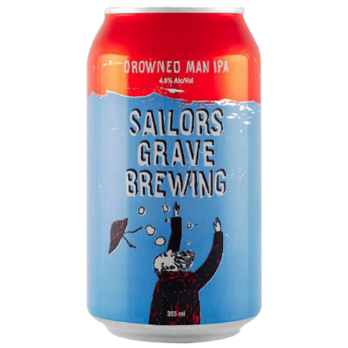 Sailors Grave Drowned Man IPA 4.8% Can 355mL