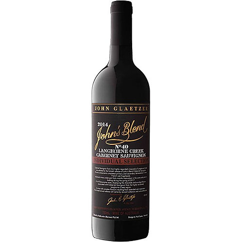 John's Blend 2014 Langhorne Creek Individual Selection No 40 Cabernet Sauvignon