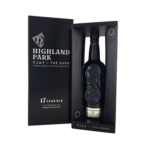Highland Park The Dark 17 Year Old Single Malt 52.9% Btl 700mL