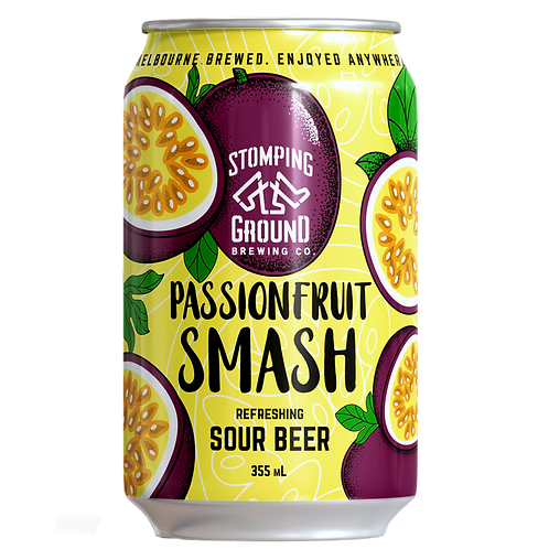 Stomping Ground Passionfruit Smash Sour 4.2% Can 355mL