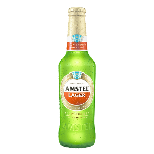 Amstel Slow Brewed Beer 5% Btl 330mL