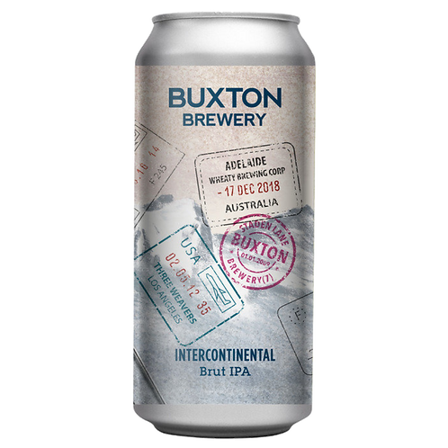 Buxton Brewery Intercontinental Brut IPA 7.4% Can 440mL