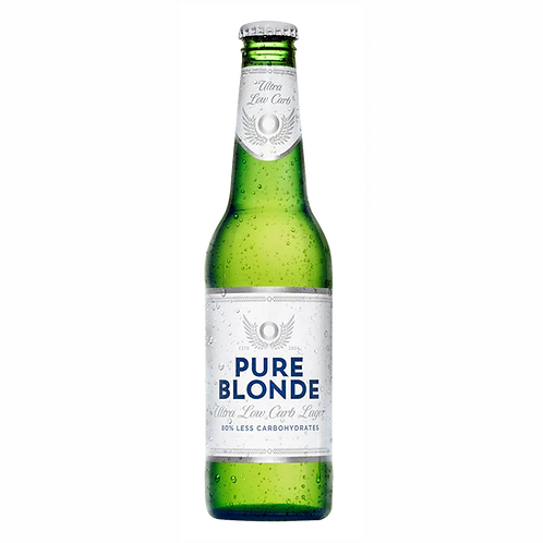 Pure Blonde Ultra Low Carb Beer 4.2% Btl 355mL