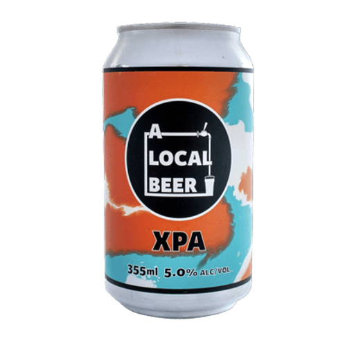 A Local Beer XPA 5% Can 355mL