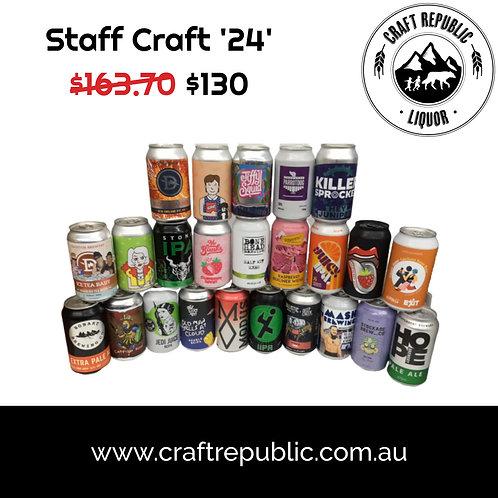 Craft Republic March 'Staff Craft' 24 Pack