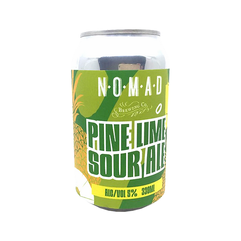 Nomad Brewing Pine Lime Sour Ale 5% Can 330mL