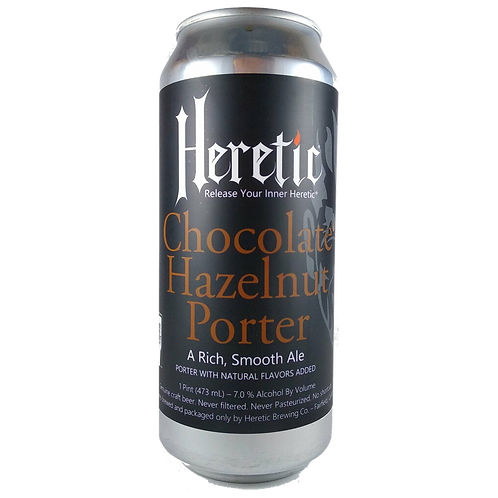 Heretic Brewery Chocolate Hazelnut Porter 7% Can 473mL