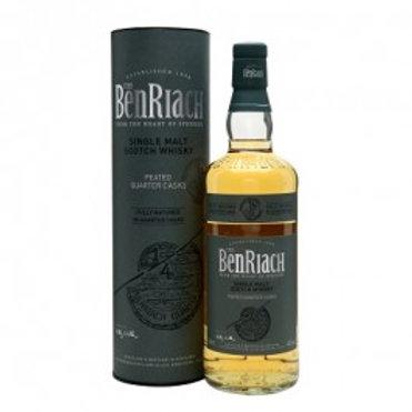 Benriach Peated Quarter Cask Single Malt Scotch Whisky 46% 700mL