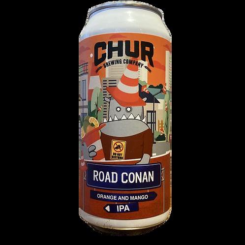 Chur Brewing Co Road Conan Orange & Mango IPA 7% Can 440mL