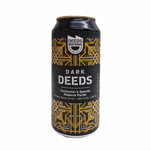 Deeds Brewing Dark Deeds Conductor's Special Reserve Porter 9.5% Can 440mL
