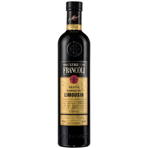 Luigi Francoli Limousin Grappa 42.5% Btl 700mL