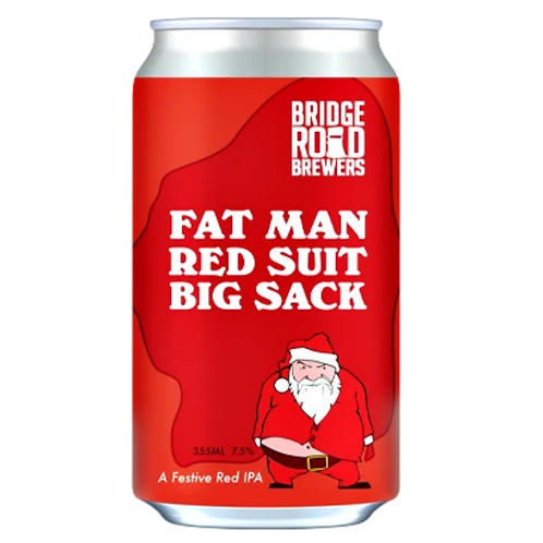Bridge Road Fat Man, Red Suit, Big Sack, Red IPA Can 355mL