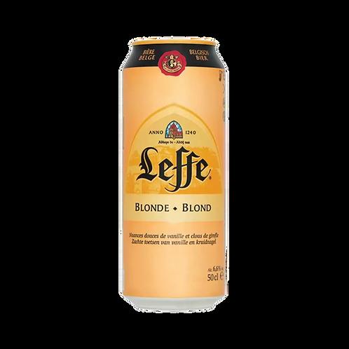 Leffe Blonde Bier 6.6% Can 500mL