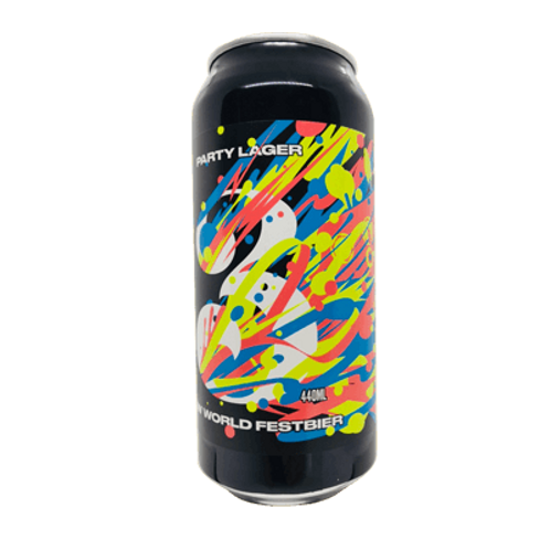 3 Ravens Party Lager ( New World Festbier ) 5.6% Can 440mL