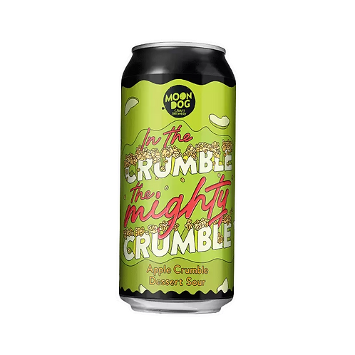 Moon Dog In the Crumble Apple Crumble Dessert Sour Ale 5.8% Can 330mL