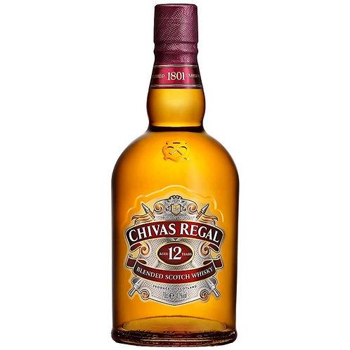 Chivas Regal 12 Year Old Blended Scotch Whisky Btl 700mL