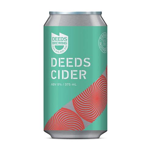 Deeds Brewing Cider 5% 375mL