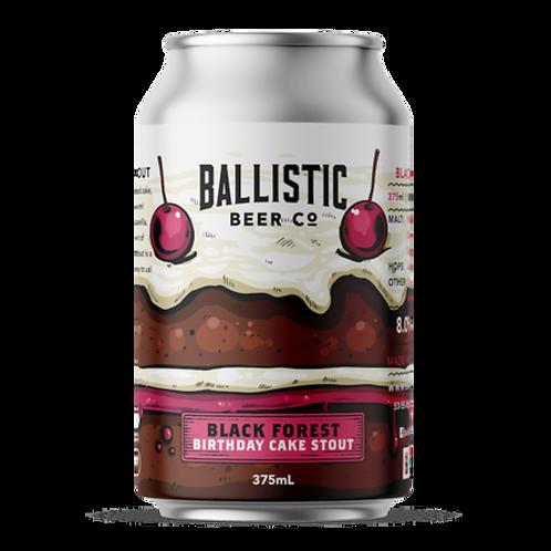 Ballistic Stout Black Forest Birthday Cake 8% Can 375mL