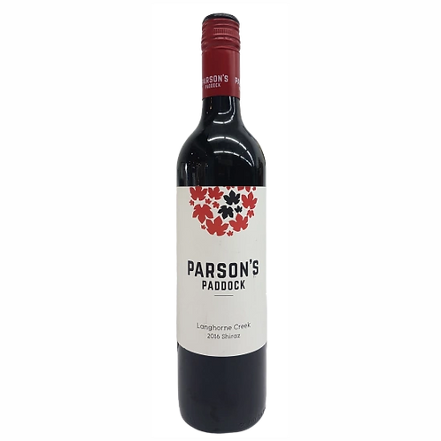 Parson's Paddock 2016 Langhorne Creek Shiraz Btl 750mL