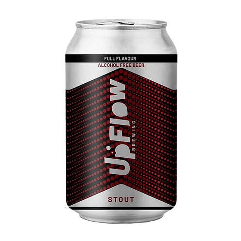 Upflow Brewing Co Stout Alcohol Free 375mL