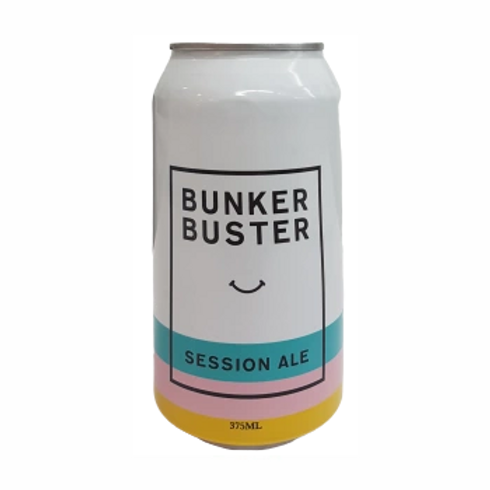 Balter Brewery Bunker Buster Session Ale 4.5% Can 375mL
