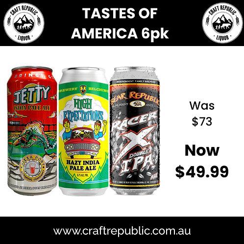A Taste of America's Best 6 Pack 473mL