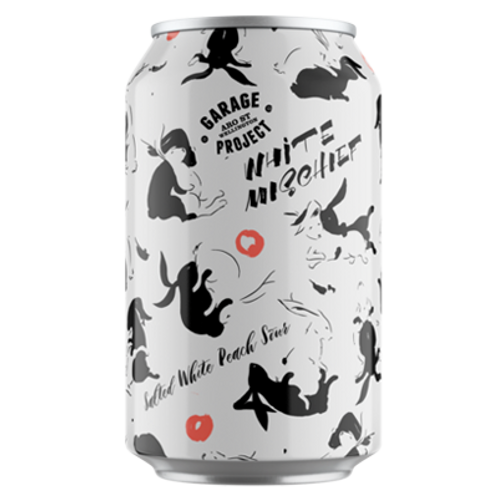 Garage Project White Mischief Salted White Peach Sour 2.9% Can 330mL