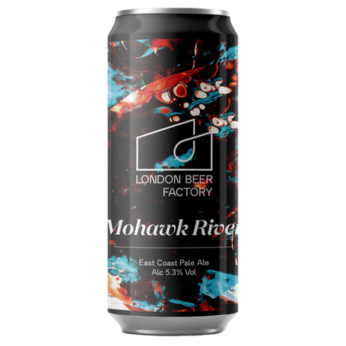 London Beer Factory Mohawk River East Coast Pale Ale 5.3% Can 440mL