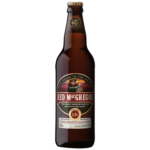 Orkney Red MacGregor Ruby Ale 4% Btl 500mL