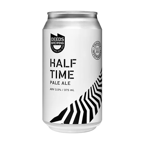 Deeds Brewing Half Time Lil' Pale 3.5% Can 375mL