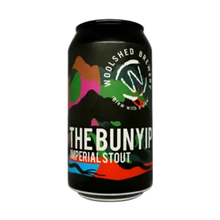 Woolshed Brewery The Bunyip Imperial Stout 8.3% Can 375mL