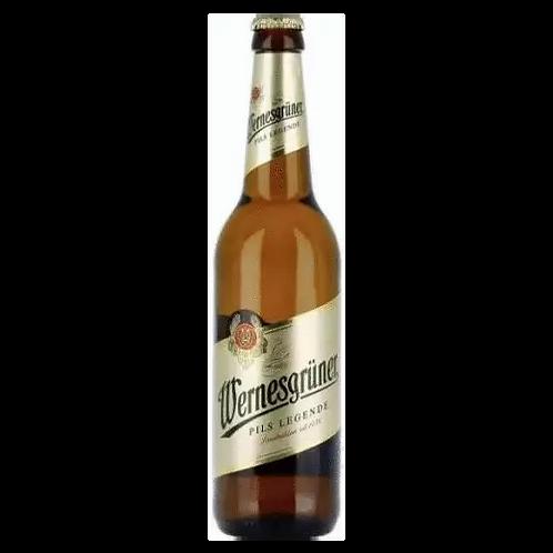 Wernesgruner German Pils 4.9% Btl 330mL