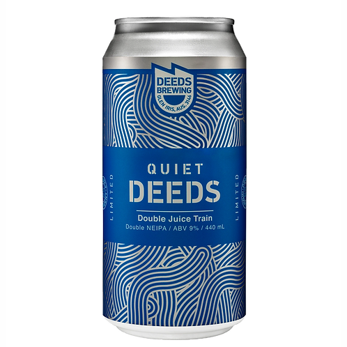 Deeds Brewing Double Juice Train NEIPA 9% Can 440mL
