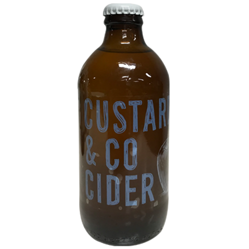 Custard & Co Vintage Dry Cider 5.5% Btl 330mL