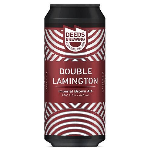 Deeds Brewing Imperial Brown Ale Double Lamington  8.5% 440mL