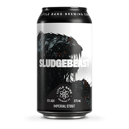 Little Bang Sludgebeast Imperial Stout 12% Can 375mL