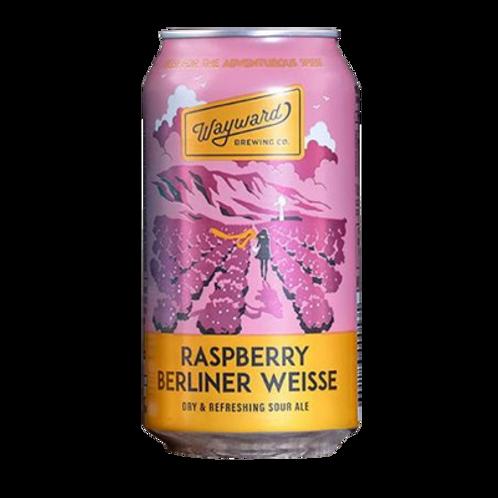 Wayward Brewing Raspberry Berliner Weisse 3.8% Can 375mL