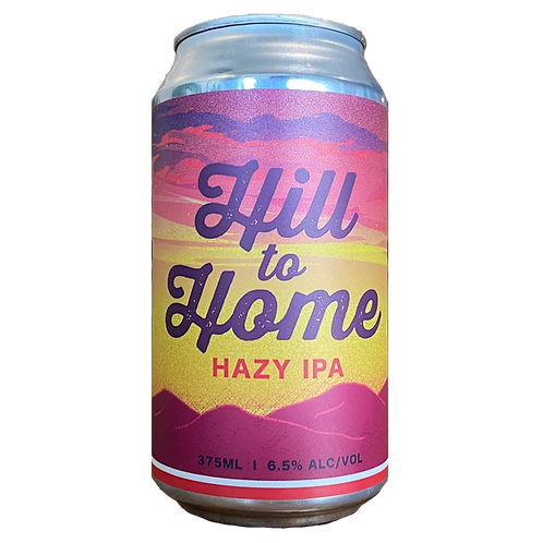 Hargreaves Hill, Hill to Home Hazy IPA 6.5% Can 375mL
