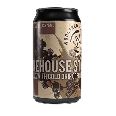Woolshed Brewery Firehouse Stout 5.6% Can 375mL