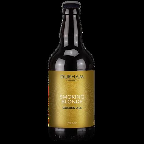 Durham Brewery Smokin Blonde Golden Ale 6% Btl 500mL