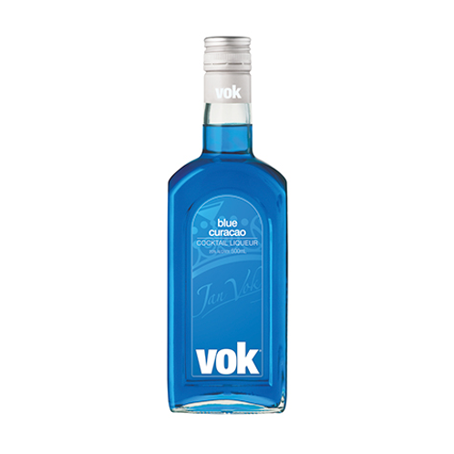 Vok Blue Curacao Liqueur Btl 500mL
