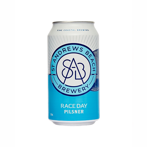 ST Andrews Beach Race Day Pilsner 5% Can 375mL
