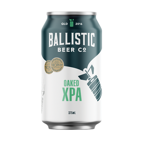 Ballistic Beer Co Oaked XPA 5.5% Can 375mL