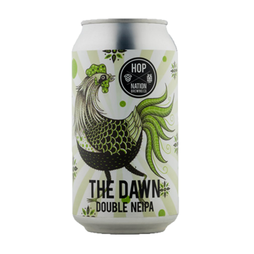 Hop Nation The Dawn Double NEIPA 9% Can 375mL