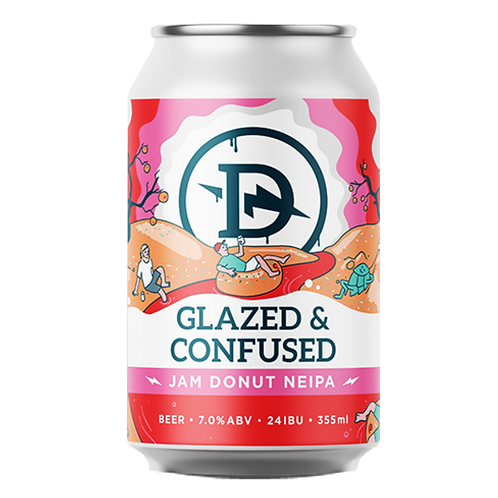 Dainton Brewery Glazed & Confused Jam Donut NEIPA 7% Can 355mL