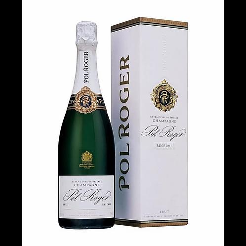 Pol Roger Reserve Brut Champagne - Gift Box Btl 750mL