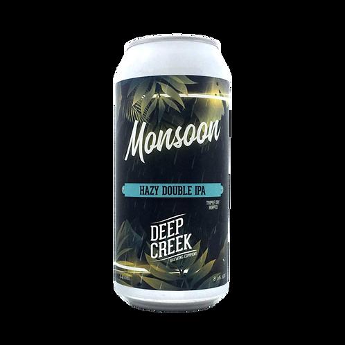 Deep Creek Monsoon Hazy DIPA 8% Can 440mL