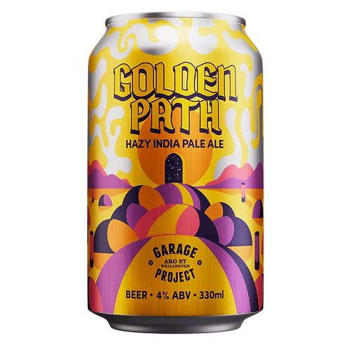 Garage Project Golden Path Juicy Session Hazy IPA 4%Can 330mL