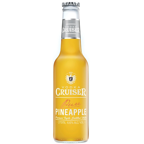 Vodka Cruiser Pure Pineapple 4.6% Btl 275mL