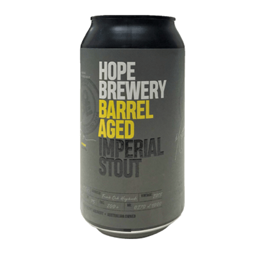 Hope Brewery Imperial Stout 9.5% Can 375mL